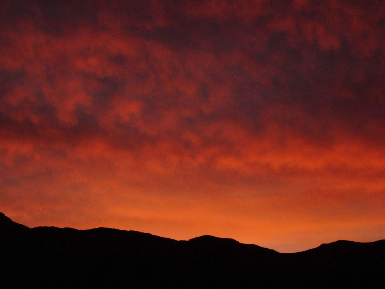 Sunset 10-22-2009